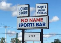 No Name Sports Bar