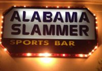 Alabama Slammer Sports Bar