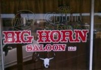 Big Horn Saloon