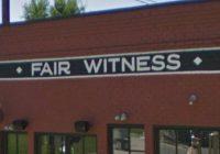 Fair Witness Fancy Drinks